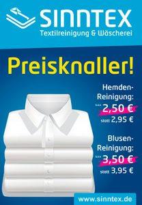Angebot Hemden- und Blusenreinigung